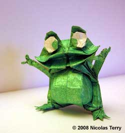 Frog by Nicolas Terry